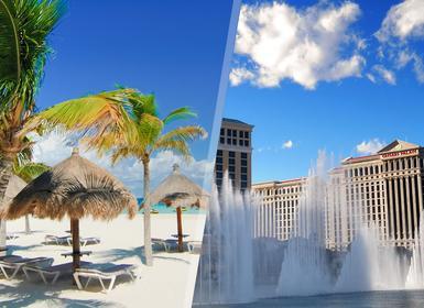 Viajes México y EEUU 2019: Combinado Las Vegas y Cancún