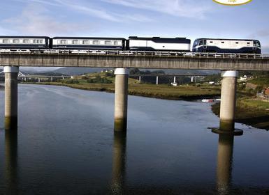 Viajes Asturias, Galicia, País Vasco y Cantabria 2018-2019: Tren Transcantábrico Gran Lujo de Santiago de Compostela a San Sebastián