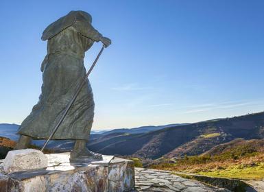Viajes Galicia 2019: Camino de Santiago a pie: de Lugo a Santiago de Compostela