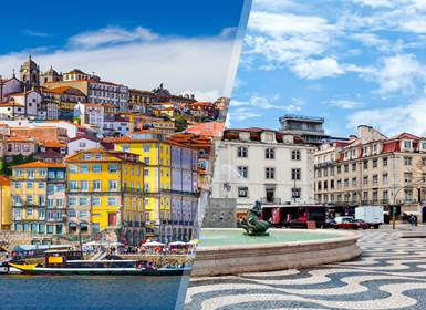 Viajes Portugal 2019-2020: Lisboa y Oporto en avión