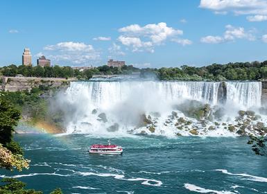 Viajes Canadá 2019-2020: Ruta en coche por el Este Canadiense con noche en Niágara