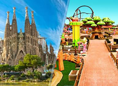 Viajes Cataluña 2019-2020: Circuito Barcelona y PortAventura World en tren