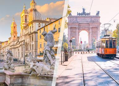 Viajes Italia 2019: Viaje Roma y Milán en tren