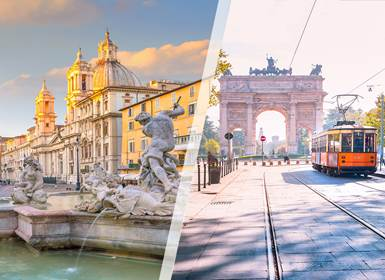 Viajes Italia 2019: Roma y Milán en tren