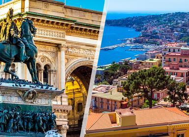 Viajes Italia 2019: Combinado Milán y Nápoles en tren