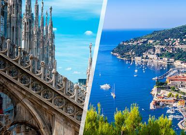 Viajes Italia 2019: Combinado Milán y Niza en tren