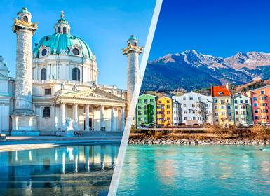 Viajes Austria 2019-2020: Viena e Innsbruck en avión