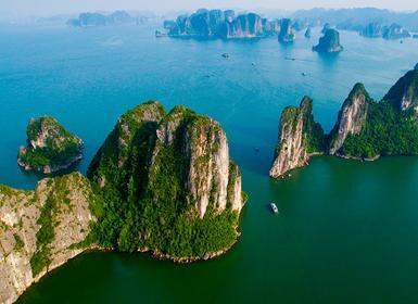 Viajes Camboya y Vietnam 2019-2020: De Saigón a Hanoi con dos noches de Crucero en Halong