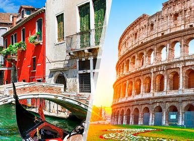 Viajes Italia 2019-2020: Venecia y Roma en tren
