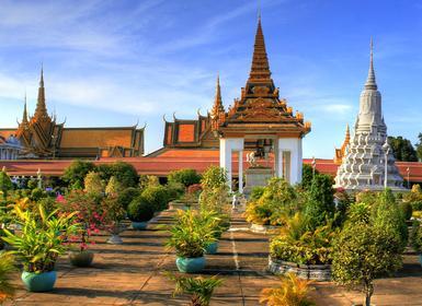 Viajes Camboya 2019-2020: Viaje organizado Phnom Penh, Kroche, Banlung, Sraem, Battambang y Angkor