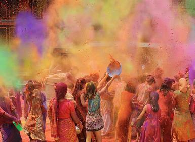Viajes India 2019-2020: Especial Fiesta del Holi en India